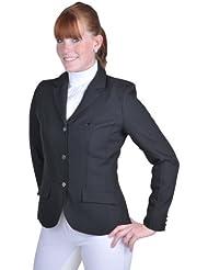 HKM chaqueta de equitación Marburg Blazer–, color black - black, tamaño 44