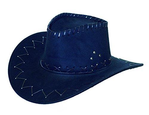 Unisex Cowboy-Hut. Farbe: schwarz