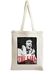 The King Of Rock n Roll Elvis Presley Tote Bag