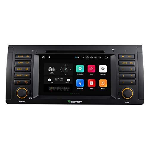 "eonon Android 8 fit BMW E53 X5 M5 17,8cm 7"" LCD Indash Car Digital Audio Video Stereo Autoradio Touchscreen CD DVD GPS Sat Nav FM AM RDS Bluetooth USB SD support DAB+ OBD2 WiFi Headunit GA9166A"