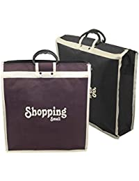 2 Pack Vegetable Bag/Shopping Bag/Grocery Bag With Handle Use For Everyday (14.5X 4x15.7 Inches)