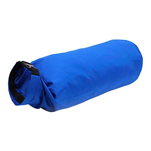 15l Leichten Wasserdichten Trockenen Beutel Tasche Fuer Bootfahren Kajak Angeln Deep Blue Deep Dip