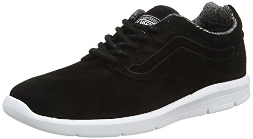 Vans Unisex-Erwachsene Iso 1.5 Low-Top, Schwarz (Tweed Dots black/true white), 38 EU