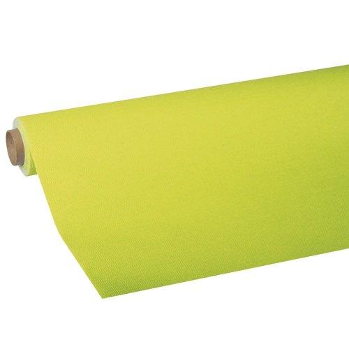 """Tischdecke, Tissue """"ROYAL Collection"""" 5 m x 1,18 m limonengrün; Tischdecke aus 5-lagigem Tissue auf Rolle"""