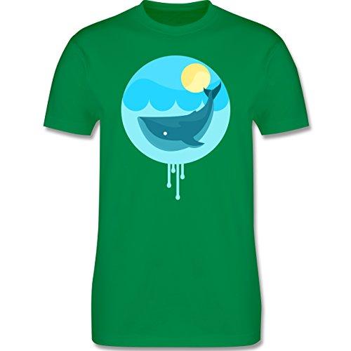 Sonstige Tiere - Wal - Herren Premium T-Shirt Grün