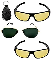 Abloom stylish mens sunglasses combo