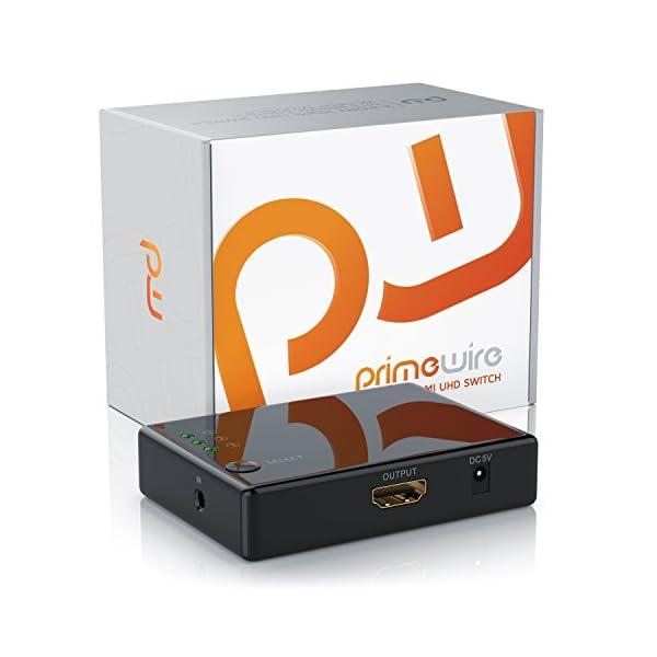 CSL-Computer-Commutateur-4k-HDMI-avec-3-Ports-3D-CEC-Arc-36-Bits-Deep-Color-Full-HD-1080p-Ultra-HD-2160p-Rsolution-jusqu-4k--30-Hz