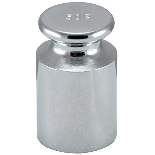 Smart Weigh Verchromt 100g C-Stahl OIML Klasse M1: ± 5 mg Kalibriergewicht mit Chrom-Finish