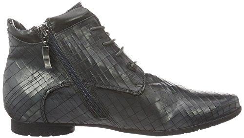 PIAZZA - 990962, Stivali a metà polpaccio con imbottitura leggera Donna Grigio (Grau (Piombo/Black))