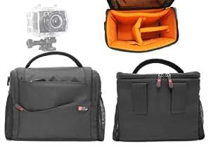 DURAGADGET Etui housse pour votre caméscope compact PNJ Cam AEE SD19, SD21 et SD23 Caméra de sport embarquée - Garantie 2 ans