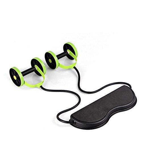 WYF Bauchmuskel-Abdominal- Push-Up-Rad Multifunktionale Zugseil Bauch Maschine Fitnessgeräte