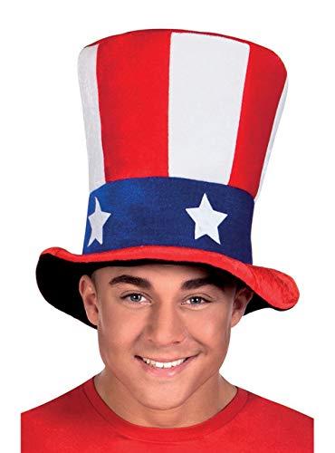 Sombrero de copa USA adulto - Única