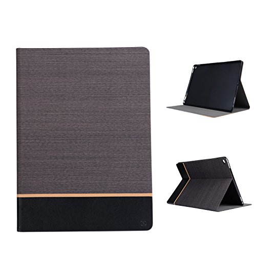Kaffee Krokodil Tasche (MOONCASE iPad Pro Hülle, Slim Tasche Pu Leder Klappetui Bookstyle Schutzhülle für Apple iPad Pro 12.9
