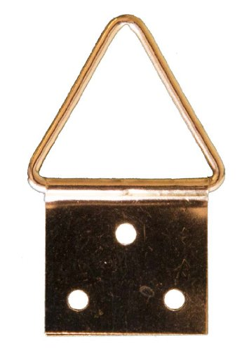 Crochet X AT16 Attaches triangulaires 16 mm + Clous