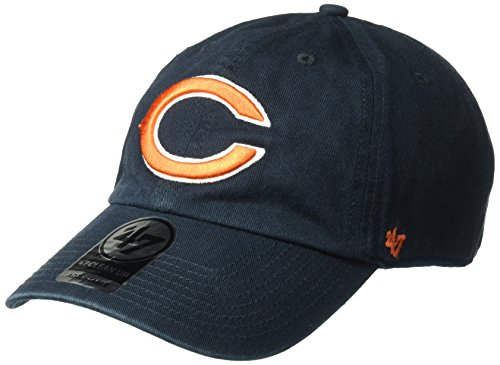 NFL Chicago Bears '47 Clean Up Adjustable Hat, Navy, One Size