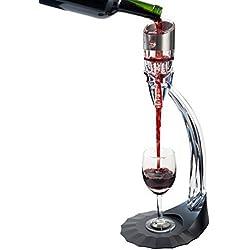 Secura Decanter Aérateur Essentiel avec Vin Decanter avec 6 vitesses d'aération