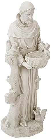 Design Toscano Nature's Nurturer, St. Francis Sculpture - Large