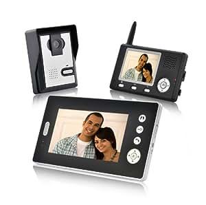 doppelte vision guardian funk video t rsprechanlage mit 2. Black Bedroom Furniture Sets. Home Design Ideas