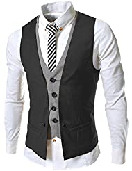 TRIXES 2 Piece design Mens Fashion Vest Gilet Taille XSmall