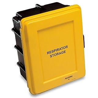 Allegro Industries 4400 Respirator Storage Case, 14 x 9.5 x 18, Yellow by Allegro Industries