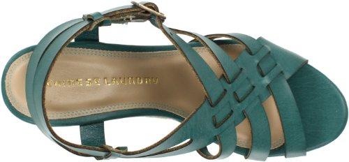 Chinese Laundry Double Click Damen Synthetik Keilabsätze Sandale Aqua Blue