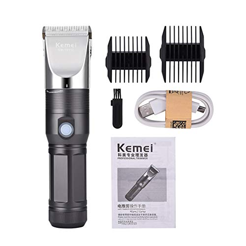 Elektrische Haarschneidemaschine Leistungsstarke Carbon Steel Head Hair Trimmer USB Wiederaufladbare Elektrorasierer Männer Bart Rasierer Haarschnitt