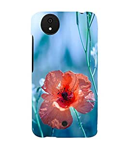 Beautiful Flower 3D Hard Polycarbonate Designer Back Case Cover for Micromax Canvas Android A1 AQ4501 :: Micromax Canvas Android A1