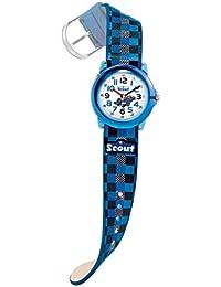 Scout Jungen-Armbanduhr Analog Quarz Kunstleder 280305015