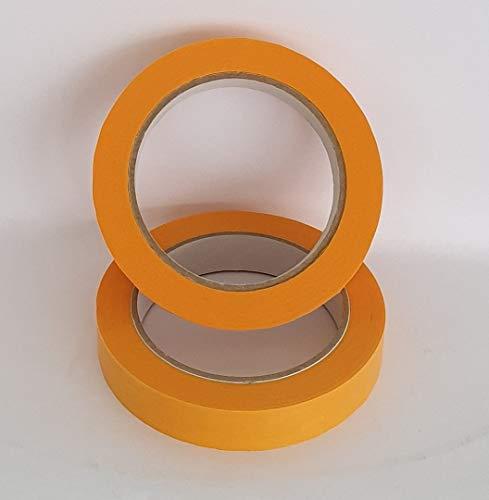 6 Rollen Goldband PLUS 30mm x 50m Finelinetape Malerkrepp Abdeckband Washi Lack