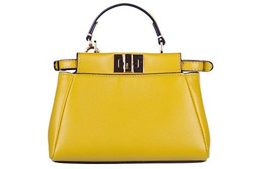 fendi-borsa-donna-a-mano-shopping-in-pelle-nuova-micro-peekaboo-giallo