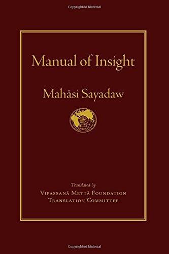 Manual of Insight by Mahasi Sayadaw (2016-05-17)