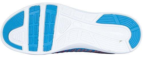 Reece Hockey Hyper Knitted Sneaker - aqua blue - multi Blau