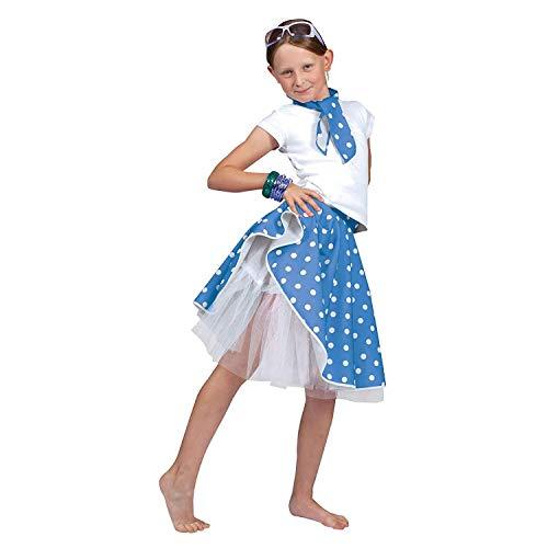Kostüm And Für Jungen Rock Roll - Bristol Novelty CC760D Rock 'N' Roll Rock, Blau