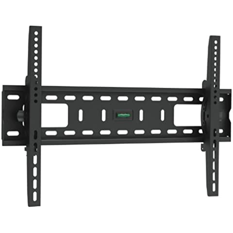Brateck - Soporte de pared para TV, negro