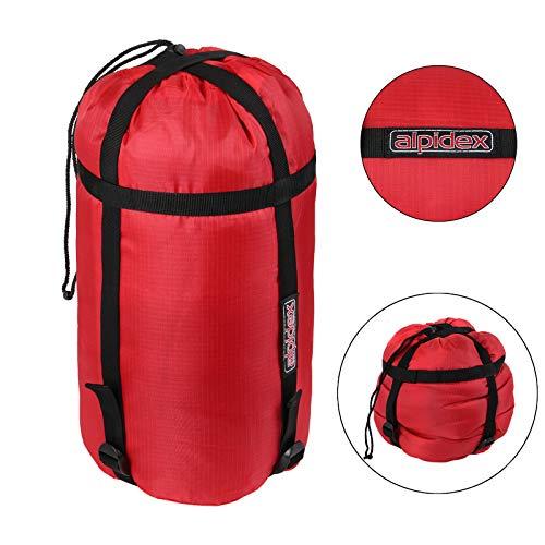 ALPIDEX Kompressionssack Schlafsack Wasserabweisend Kleidung Packsack Schlafsack Kompression Reisen Camping