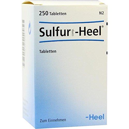 Sulfur Comp.heel Tablette 250 stk -