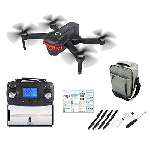 Faltbar FPV Drohne mit 4K Kamera HD mit 120 ° Weitwinkel live übertragung,Intelligent Follow Me,rc quadrocopter ferngesteuert,5G WiFi kompatibel für Fixed Point Drone, Anfänger und Experte (Schwarz)