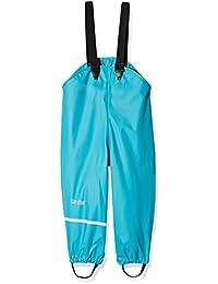CareTec Pantalones Impermeable Unisex Niños, Azul (Turkis 968), 92