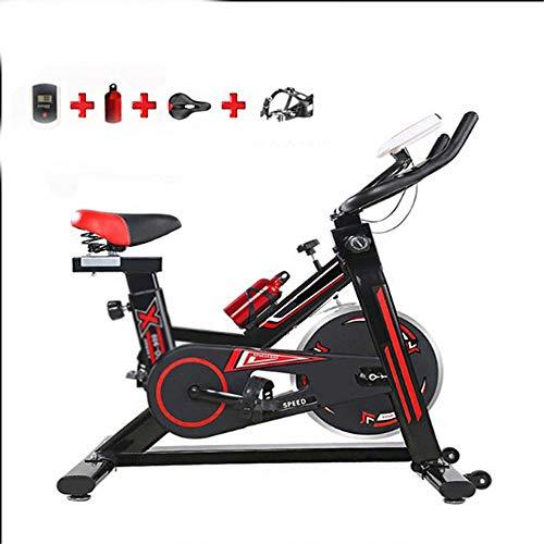 Wyaenghai bicicletta da spinning ellittica trainer cyclette perdita di peso macchina for esercizi volano anteriore montato aumentare la stabilità esercizio aerobico per la palestra di casa