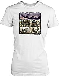The Gulf War - Military Ladies T Shirt - Military