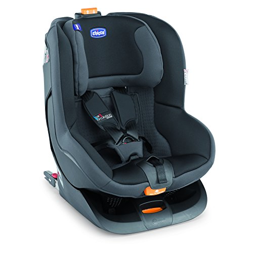 Chicco Oasys 1 Isofix EVO - baby car seats (1 (9-18 kg; 9 months - 4 years), 3-point, ISOFIX, Machine washing, Black, ECE R44/04)