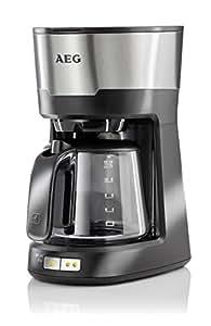 AEG 2074442 KF 5300 Cafetière Electrique Noir/Argent 33 x 29 x 19 cm