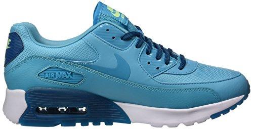 Nike W Air Max 90 Ultra Essential Scarpe da Ginnastica, Donna Blu (Gamma Blau/grün Abyss-weiß)