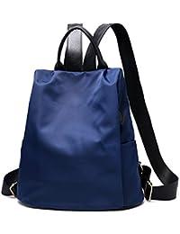Leisial Mochila de Nylon Oxford Impermeable Backpack Bolsa de Viaje Estilo Ocio para Chicas Mujeres