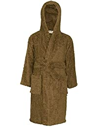 d97819a7e8 A2Z 4 Kids® Kids Girls Boys Towel Bathrobe 100% Cotton Hooded Terry Towelling  Luxury Robes Dressing Gown Loungewear Age 5 6 7 8 9 10…