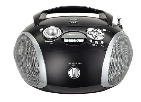 Grundig RCD 1445 USB Radio/Radio-réveil Lecteur CD MP3 Port USB