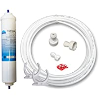 UN-1/AS5K. Wasserfilter Kühlschrankfilter für Samsung, Bosch, LG Side by Side. Externer Filter für Kühlschrank und Anschluss Set komplett