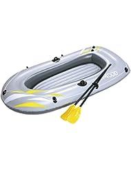 Bestway Hydro-Force RX - Barca para 2 personas, con remos y bomba de pie