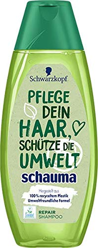 Schwarzkopf Schauma Shampoo Repairing Love The Planet, 4er Pack (4 x 400 ml)