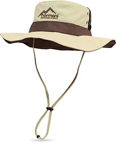 Australien Kostüme (Outdoor Shady Sonnenhut mit UV Schutz 40 + Farbe Khaki Größe)